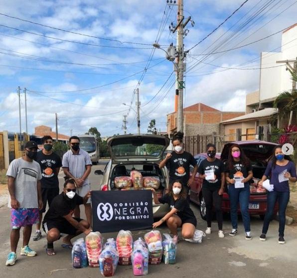 Entrega de cestas básicas e kits de limpeza no Rio Grande do Sul | #TemGenteComFome