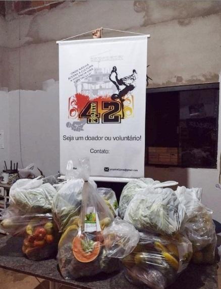 Entregas de alimentos em Palmas-TO | #TemGenteComFome