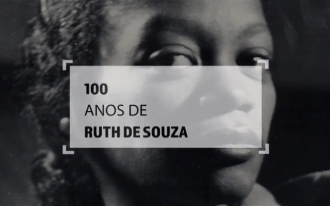 100 Anos de Ruth de Souza.
