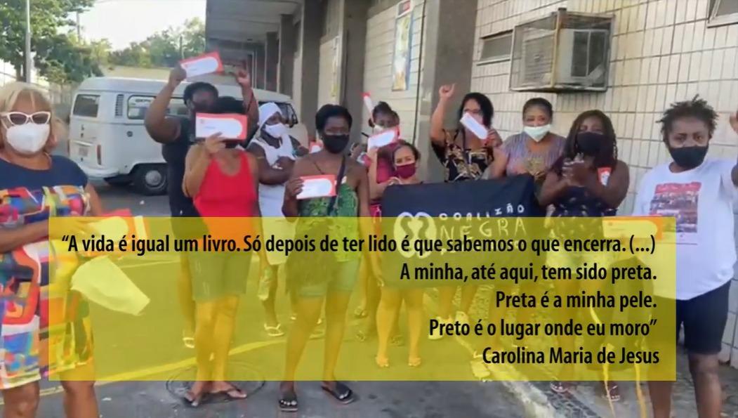 TEM GENTE COM FOME – Coletivo Barbante & Coalizão Negra Por Direitos
