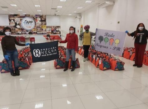 Entrega de cestas básicas em Curitiba – PA | #TemGenteComFome