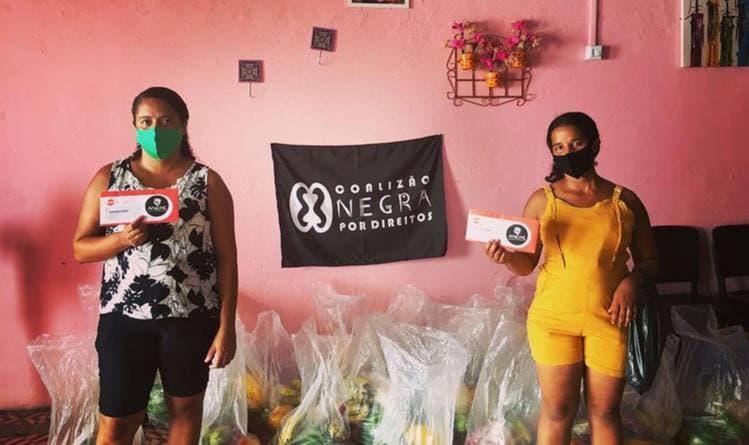 Entrega de cestas básicas em Recife – PE   #TemGenteComFome