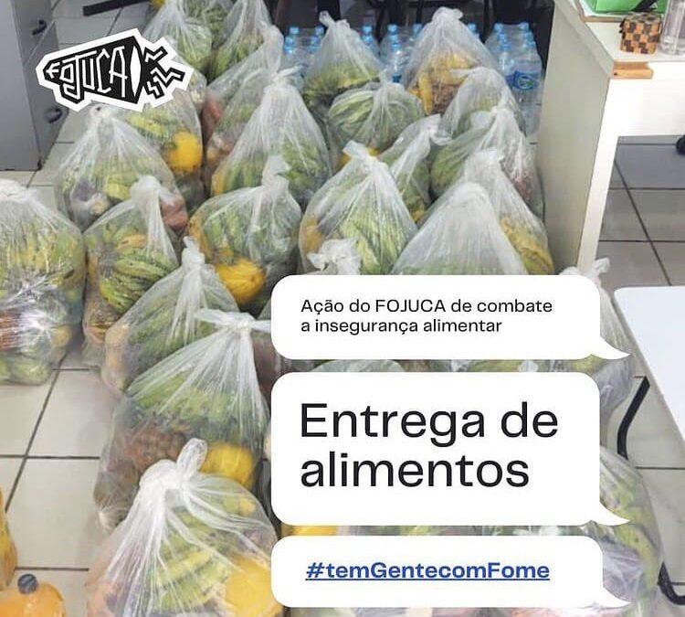 Entrega de cestas agroecológicas e cartões alimentação em Cabo de Santo Agostinho – PE | #TemGenteComFome