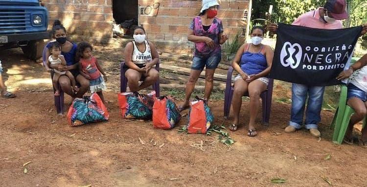 Entrega de alimentos no Tocantins | #TemGenteComFome
