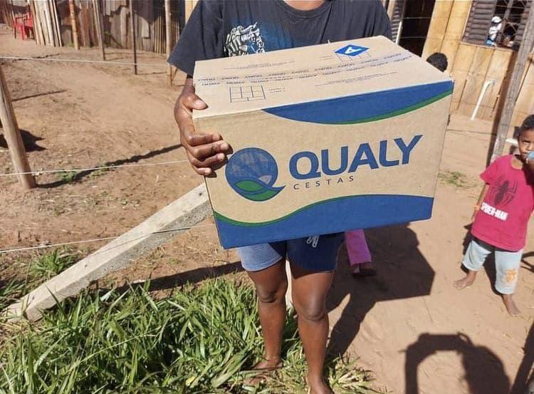 Entrega de cestas básicas em Bauru – SP | #TemGenteComFome