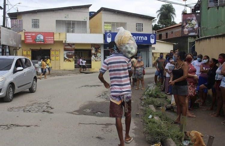 Entrega de cestas orgânicas em Camaragibe – PE | #TemGenteComFome
