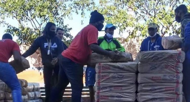 Entrega de cestas básicas e cartões alimentação em Campo Grande – MS | #TemGenteComFome