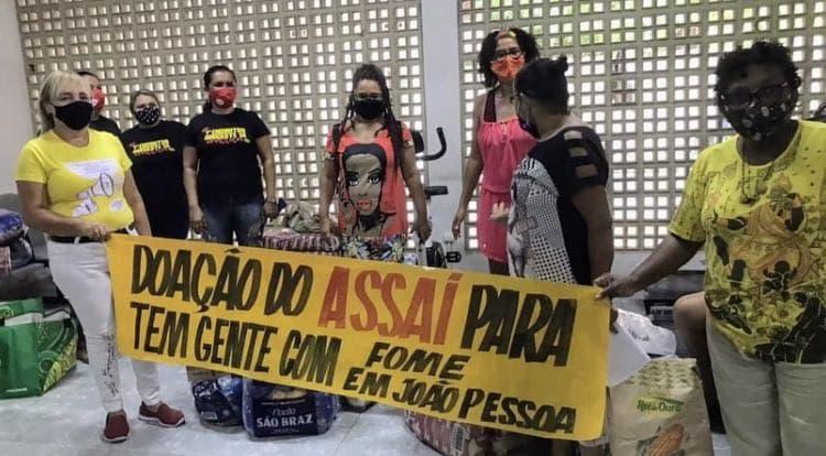 Entrega de cestas básicas na Paraíba | #TemGenteComFome