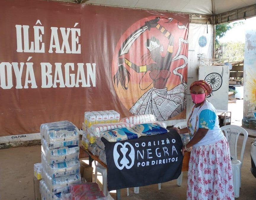 Entrega de cestas básicas no Distrito Federal | #TemGenteComFome