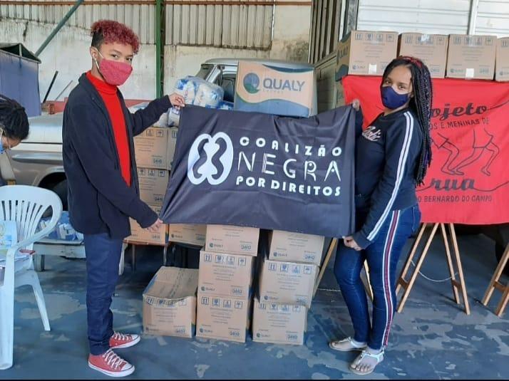Entrega de cestas básicas em São Bernardo do Campo – SP | #TemGenteComFome