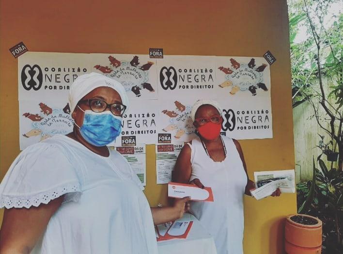 Entrega de cartões alimentação em São Félix – BA | #TemGenteComFome