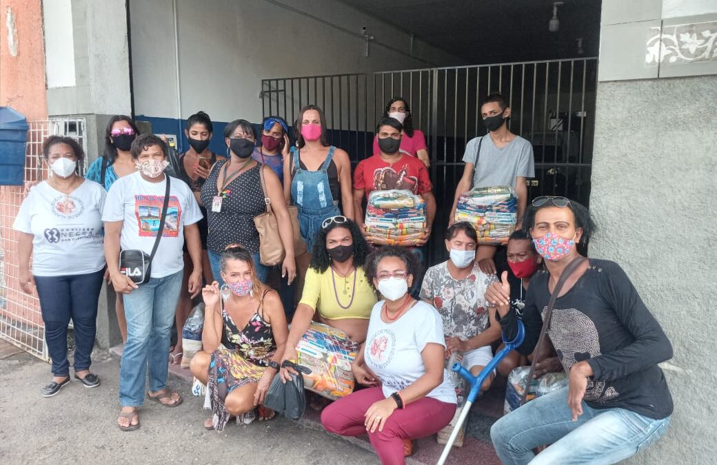 Entrega de cestas básicas e kits de higiene e limpeza em Maceió – AL | #TegmGenteComFome