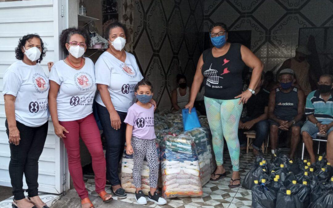 Entrega de cestas básicas no Maceió – AL | #TemGenteComFome