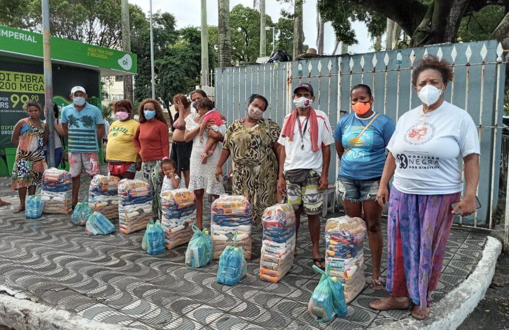 Entrega de cestas básicas e kits de higiene e limpeza em  Maceió – AL | #TemGenteComFome
