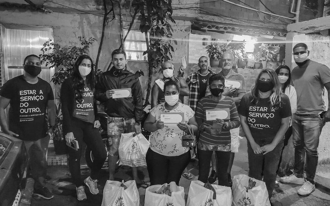 Entrega de cestas de alimentos orgânicos e cartões alimentação em Engenho de Dentro – RJ | #TemGenteComFome